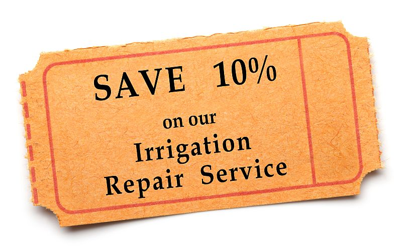 Irrigation1 Coupons